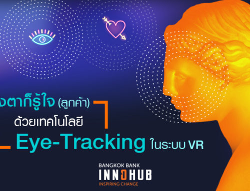 Know your customers better with VR Eye-tracking technology