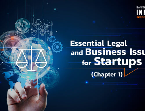 Essential Legal and Business Issues for Startups (Chapter 1)