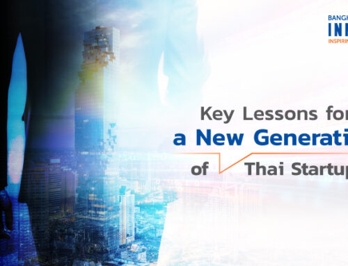 Key Lessons for a New Generation of Thai Startups